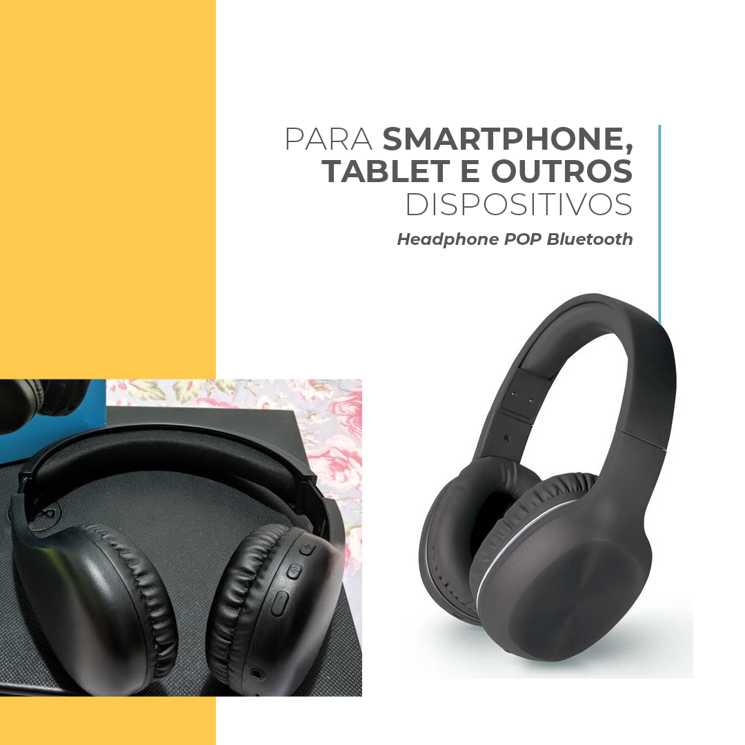 Headphone POP Bluetooth Multilaser
