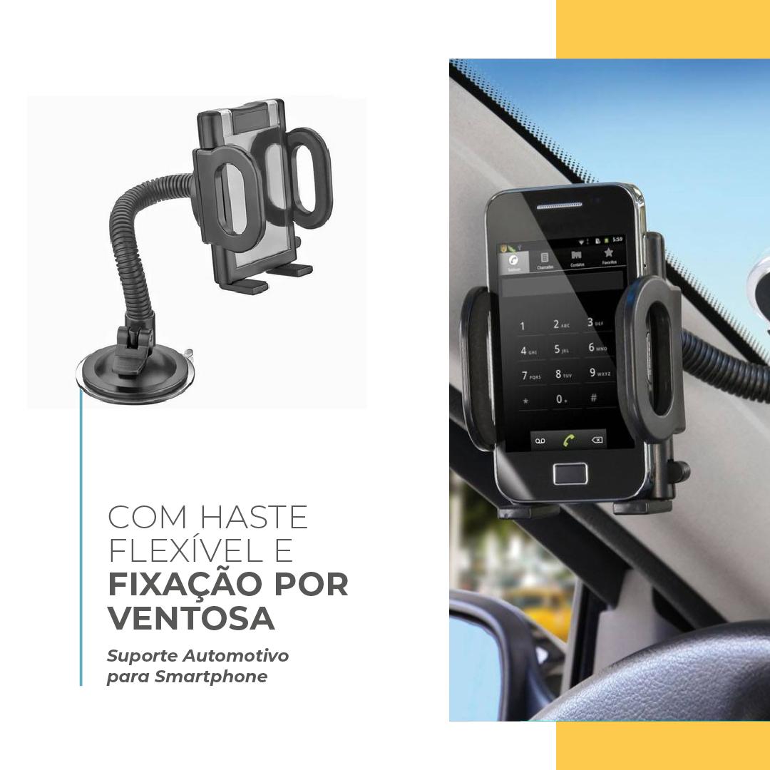 Suporte Automotivo para Smartphone Multilaser